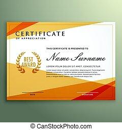 conception géométrique, certificat, gabarit
