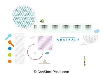 conception, gabarit, business, bannière, vecteur