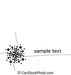 conception, graphique, disposition, vide
