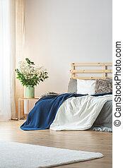 conception intérieur, chambre à coucher
