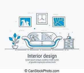 conception intérieur