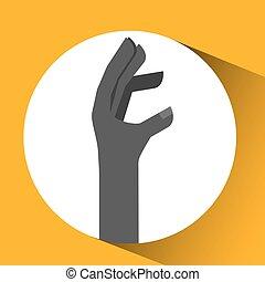 conception, langue, main