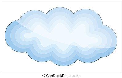 conception, lustré, nuage