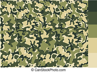 conception modèle, camouflage
