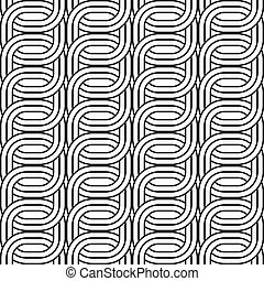 conception modèle, seamless, chaîne
