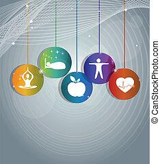 conception, moderne, santé