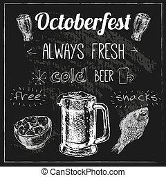 conception, oktoberfest, bière