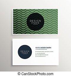 conception, ondulé, lignes, carte, business
