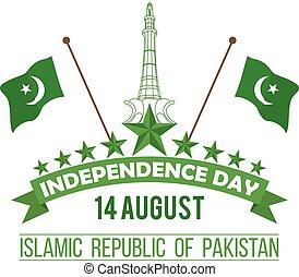 conception, pakistan's, jour indépendance