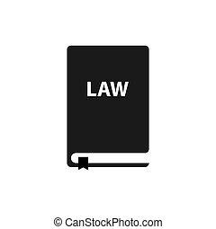 conception, simple, icône, symbole, droit & loi