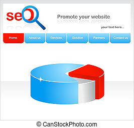 conception, site web, seo