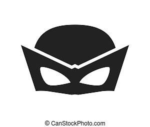 conception, superhero, masque, surhomme