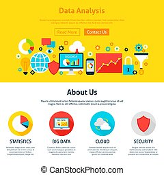 conception toile, analyse, données