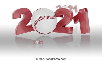 conceptions, 2021, réflexions, infini, base-ball, rotation, ...