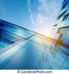 concepto abstracto, rascacielos
