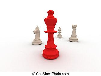 concepto, ajedrez