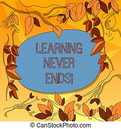 concepto, aprendizaje, color, texto, dispersado, él,...