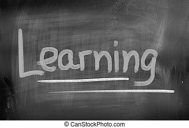 concepto, aprendizaje