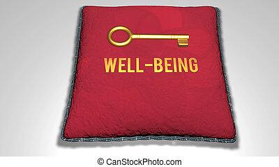 concepto, bienestar