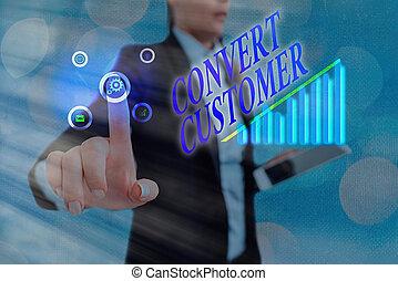 concepto, buyer., táctica, mercadotecnia, converso, estrategia, empresa / negocio, vuelta, escritura, palabra, texto, customer., plomos
