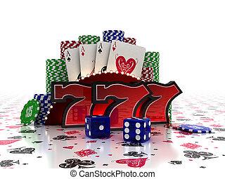 concepto, casino