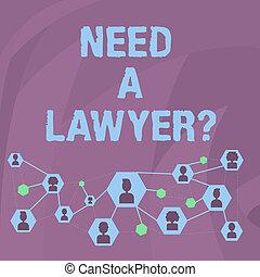 concepto, charla, texto, abogado, necesidad, si, practica, ...
