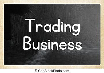 concepto, comercio, empresa / negocio