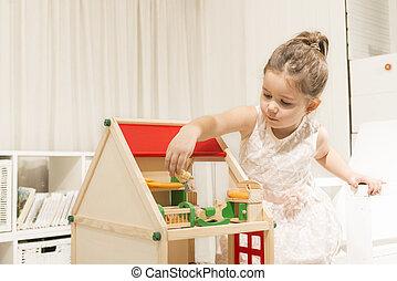 concepto, creatividad, niños