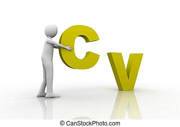 concepto, cv