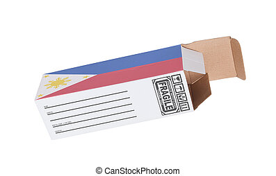 concepto, de, exportación, -, producto, de, el, phillipines