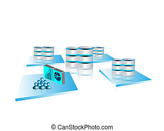 concepto, de, grande, datos, y, integración