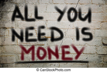 concepto, dinero