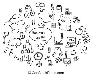 concepto, empate, elementos, finanzas, empresa / negocio, ...
