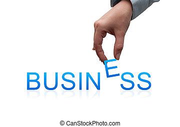 concepto, empresa / negocio