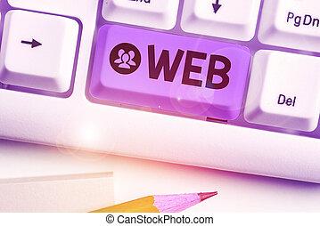 concepto, empresa / negocio, internet, servidores, texto, ...