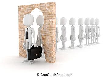 concepto, empresa / negocio, transformar, persona, regular, ...