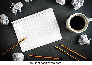 concepto, escritura creativa