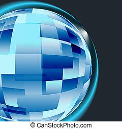 concepto, establecimiento de una red, windows., computadora de negocio