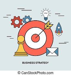 concepto, estrategia de la corporación mercantil