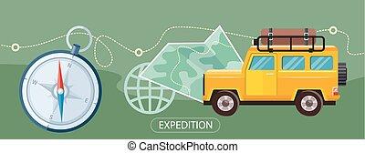 concepto, expedición