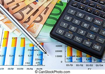 concepto, financiero