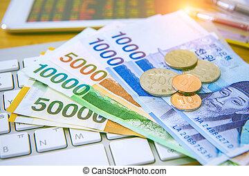 concepto, finanzas, empresa / negocio, business., moneda,...