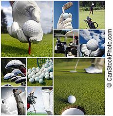 concepto, golf