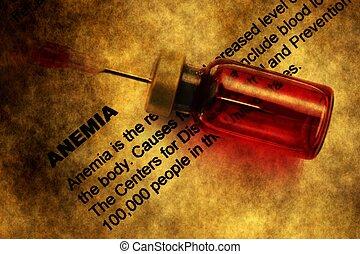 concepto,  Grunge,  anemia