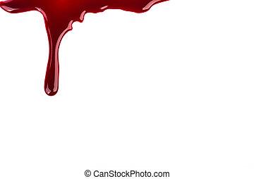 concepto, :, halloween, sangre, goteo