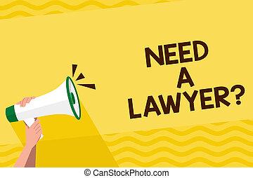 concepto, humano, texto, abogado, blanco, necesidad, si, ...