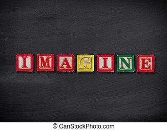 concepto, imaginarse