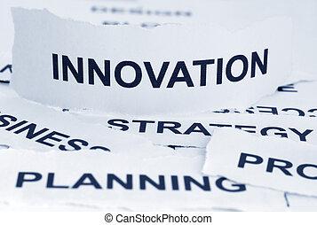 concepto, innovación
