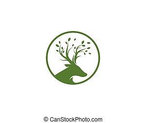 concepto, logotipo, fauna, vector