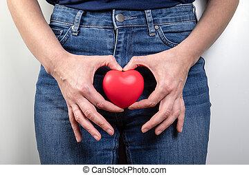 concepto, menopausia, higiene, salud, reproductor, ...